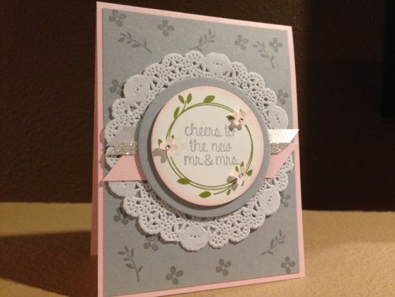 Your Perfect Day Hand Made Card using Stampin' Up by FMNPaperie