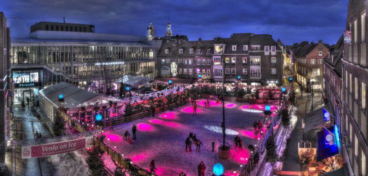 Hoogtefoto panorama Venlo on Ice