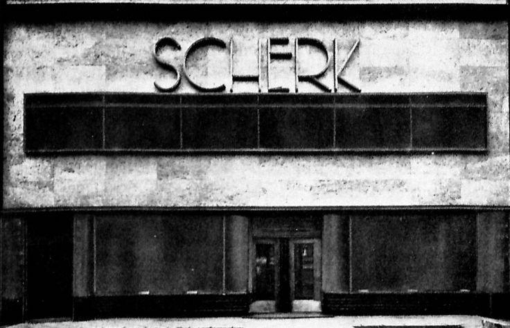 Berlin, Parfümerie Scherk, 1927 , Otto Rudolf Salvisbery.