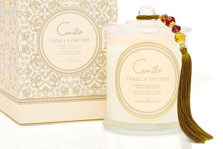 Camilla vanilla candle