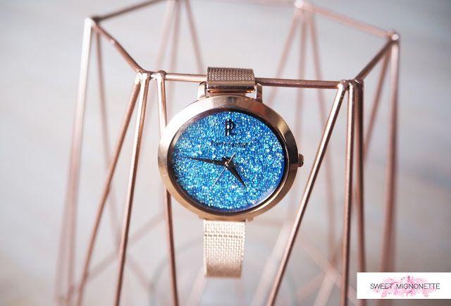 On aime le rose gold avec la montre Cristal Pierre Lannier