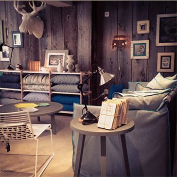 Cool interior store in Annecy, France: Daisy & Stanley
