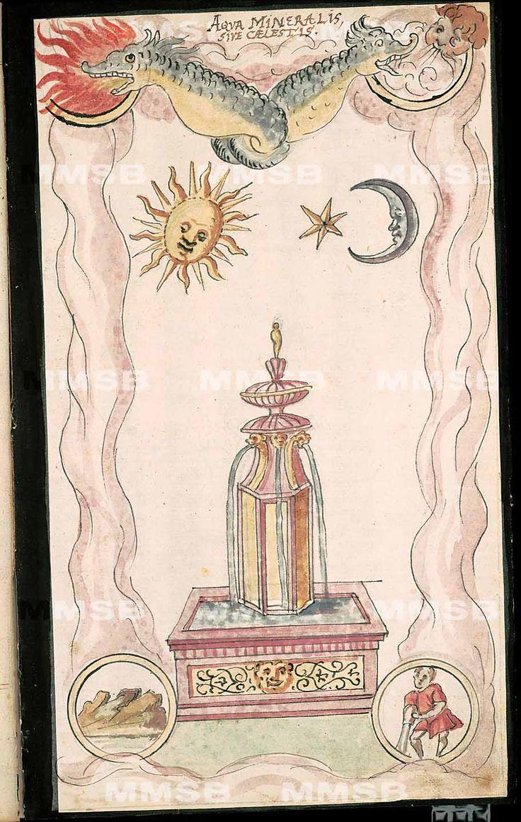 Figürliche alchimia, 29-C-21 (18926) Hs. Kynžvart 125, polovina 17. století