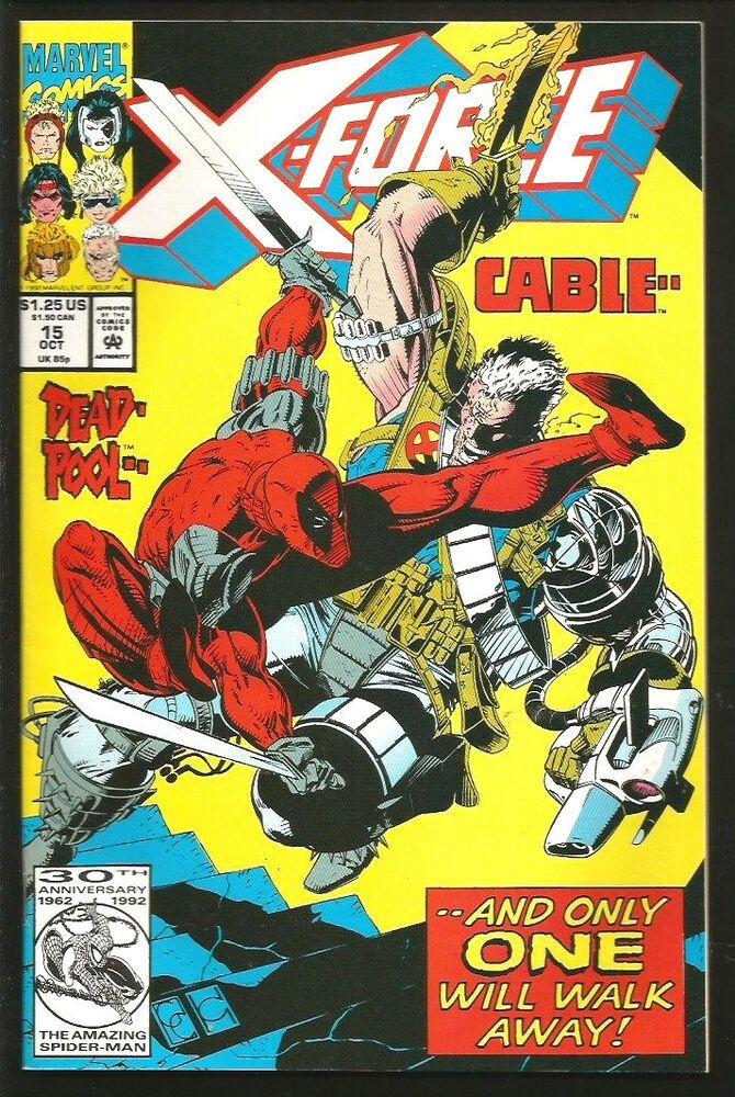 Deadpool Movie! 1992 X-FORCE #15