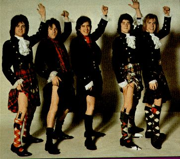 Bay City Rollers in kilts, 1970s.I really loved the Bay City Rollers Woody was my favorite.Please check out my website thanks. www.photopix.co.nz