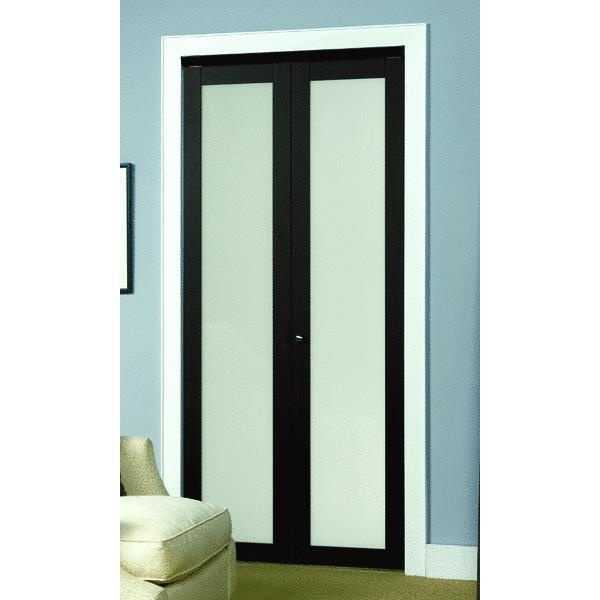 Bi Fold Closet Door This Is Pretty Sleek Dark Wood Would Match The Bed Master Bedroom Closet