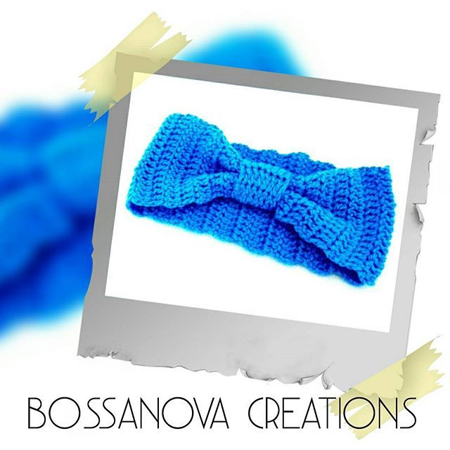 #bossanovacreations #creation #creativity #handmade #hechoamano #headband #loveit #fashion #blue #picoftheday #photooftheday #crochet #crochetaddict #crocheting #ganchilloterapia #ganchillo #knittersofinstagram #knitting #knit #igers #instagrammers
