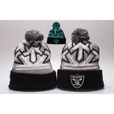 NFL Oakland Raiders Beanies Knit Reflector Cap