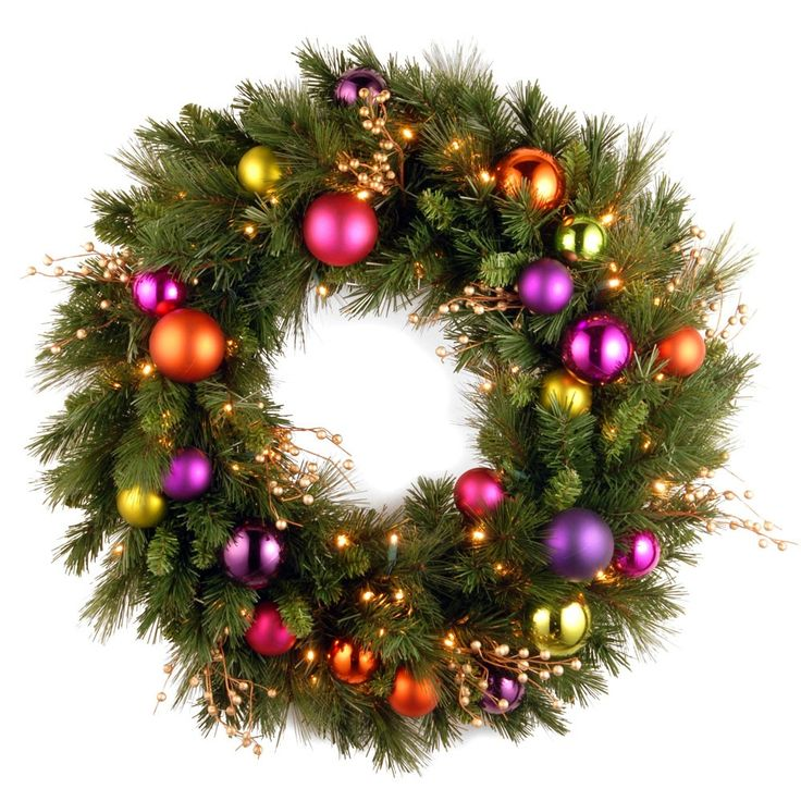 101 best artificial christmas wreaths images on pinterest pre lit faux indooroutdoor gloria wreath welcome the holidays on joss main aloadofball Choice Image