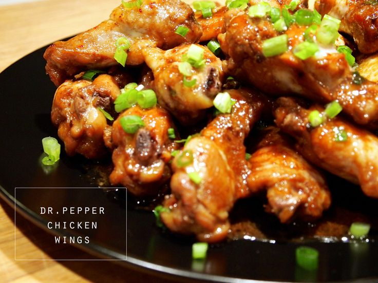 Plucker's Dr Pepper wing recipe