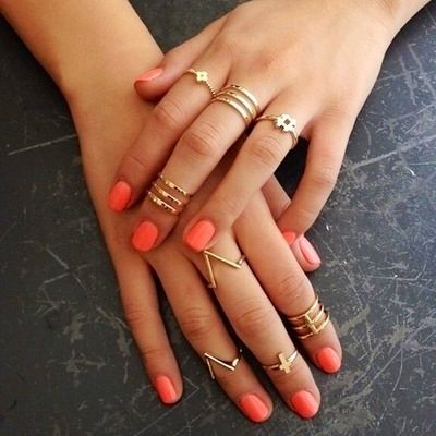 Knuckle rings - loving this new trend