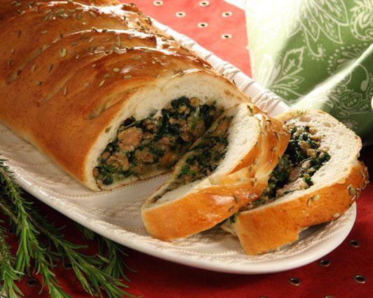 136 best italian food recipes images on pinterest cooking food italian sausage braid forumfinder Gallery