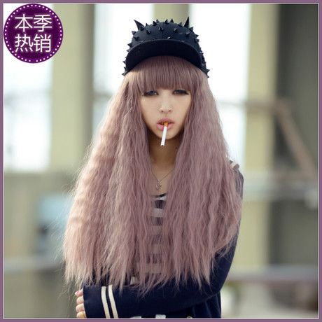 Anime Cosplay Wigs Long Harajuku Curly Blonde Synthetic Pad For Hair Wigs Young Sailor Moon African American Hair Bob Lolita Wig