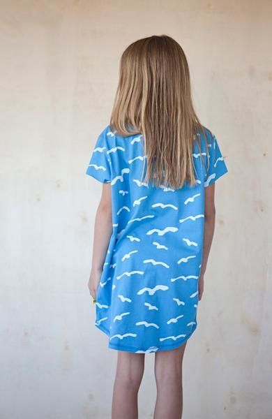 MALOU seagull dress