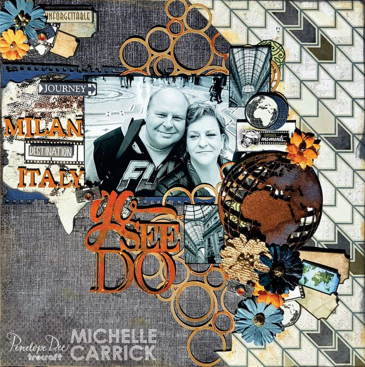 Single page layout by Michelle Carrick created with the Go See Do collection.