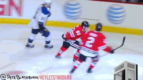 The greatest Patrick Kane goal celebration GIF of all-time | Puck Daddy - Yahoo Sports