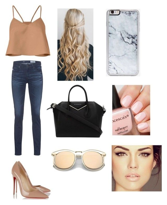"""""""LWPAO"""" by theprincessjrn on Polyvore featuring TIBI, AG Adriano Goldschmied, Christian Louboutin, Givenchy and Zero Gravity"""