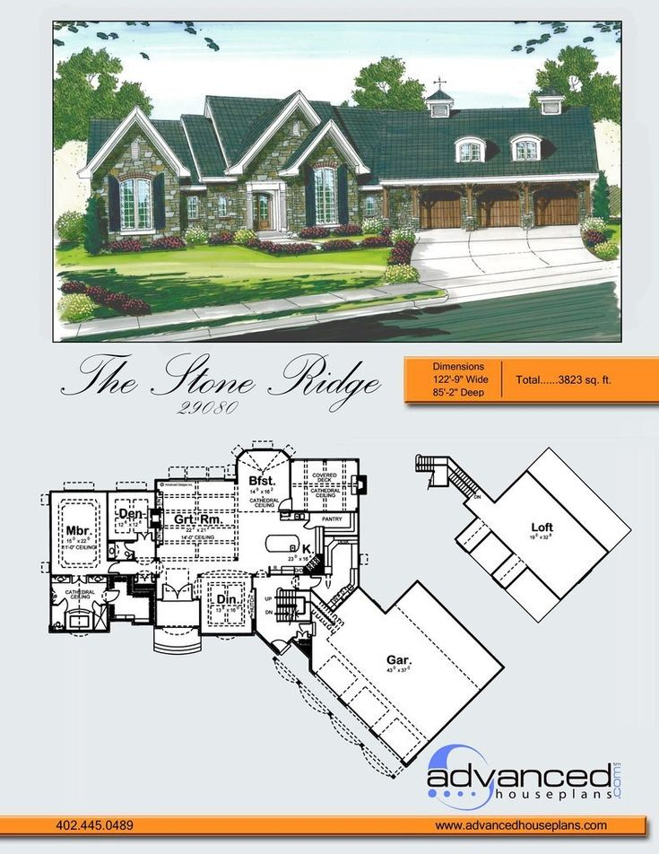 29080 stoneridge stoneridge is a french country ranch house plan upon driving up to this - French Country Ranch House Plans