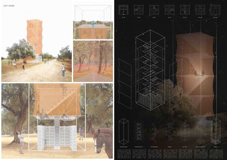 LHT_Leverano Horizon Tower - MENTION   by archiSTART #competition #architecture #archistart