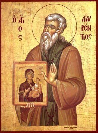 Όσιος Λαυρέντιος κτήτορας της Ιεράς Μονής Φανερωμένης στη Σαλαμίνα  - March 7th