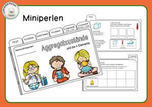 Miniperlen: Aggregatzustände und die vier Elemente