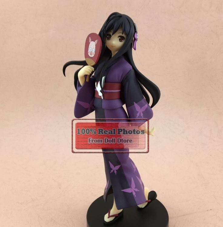 33.28$  Buy here - http://di4l7.justgood.pw/ali/go.php?t=32740044243 - 2016 new 18CM original Japanese anime figure Accel World Kuroyuki hime kimono ver action figure collectible model toys for boys 33.28$