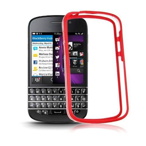 ClearBumper (Red) Blackberry Q10 Bumper