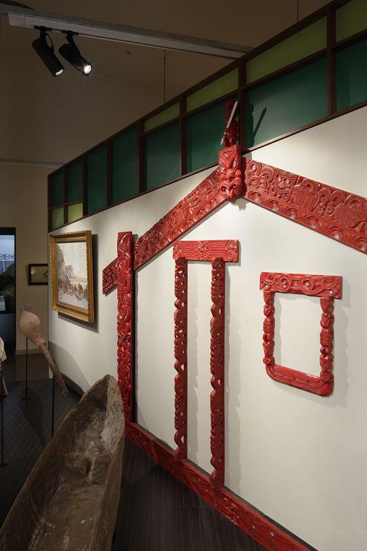 Inside the permanent gallery. Copyright Richard Wotton.