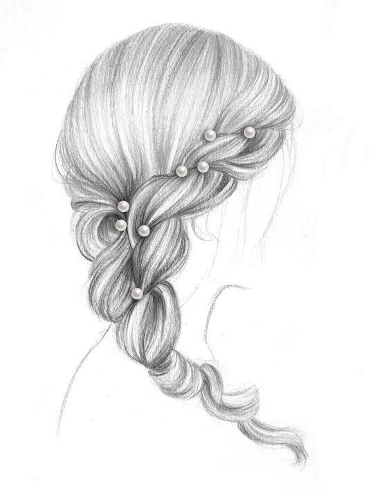 les 25 meilleures id es de la cat gorie dessiner les cheveux sur pinterest comment dessiner. Black Bedroom Furniture Sets. Home Design Ideas