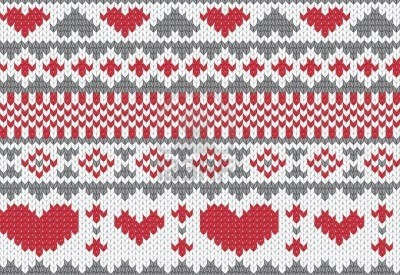 Seamless Knitted Pattern For Winter Clothing. Vector Illustration. Royalty Free Cliparts, Vectors, And Stock Illustration. Image 11967527.