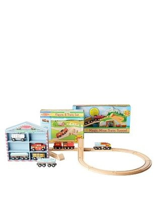49% OFF Melissa & Doug Mine Train Bundle