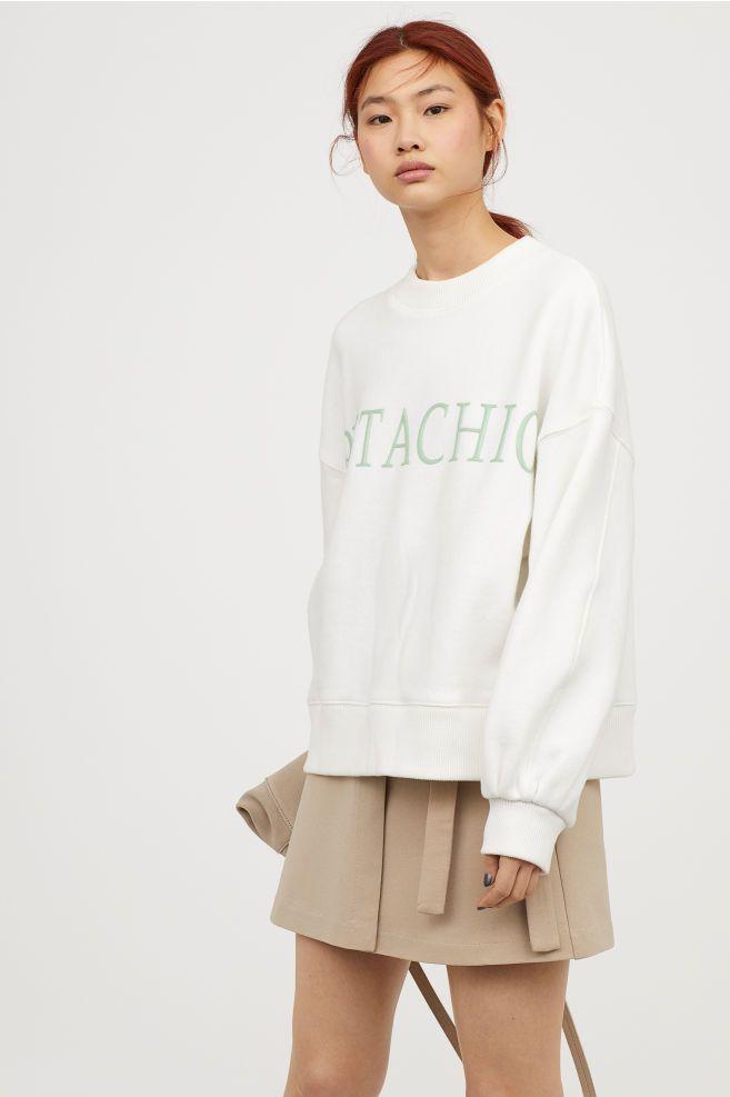 6583c7457c Oversized Sweatshirt in 2019 | new school year | Sweatshirts ...