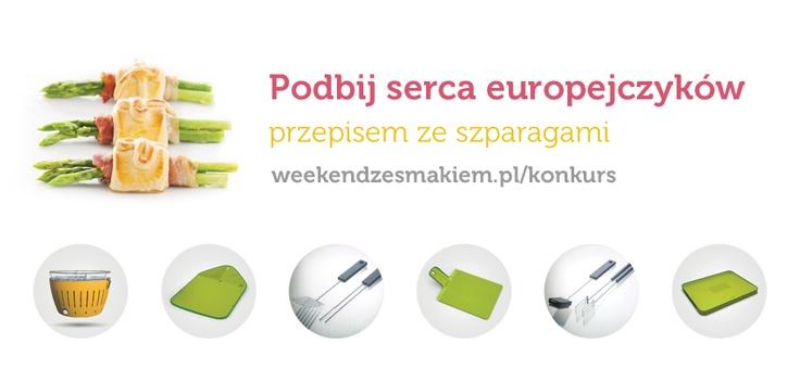 Konkurs dla tych, co mają głowy pełne pomysłów oraz dla tych, którzy uwielbiają szparagi! :)