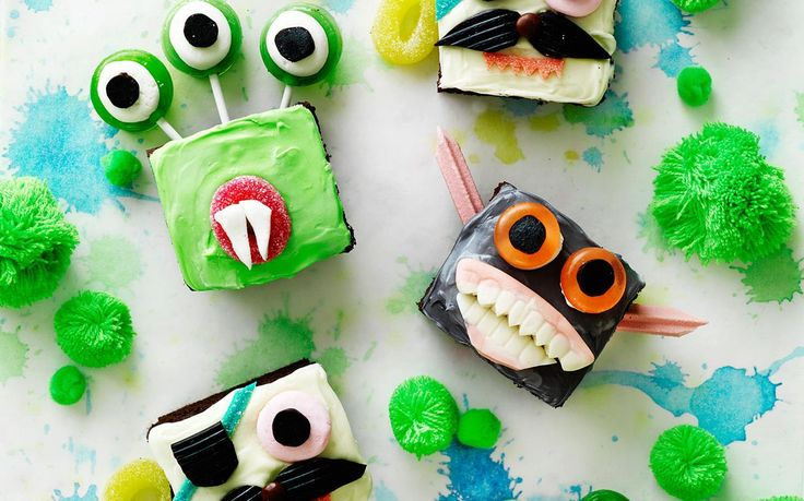 Scary monster cupcakes recipe - By Australian Women's Weekly, A little bit scary and a whole lot of fun.