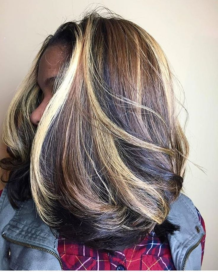 Ah-mazing body and color by Indy stylist @dereqc #voiceofhair voiceofhair.com