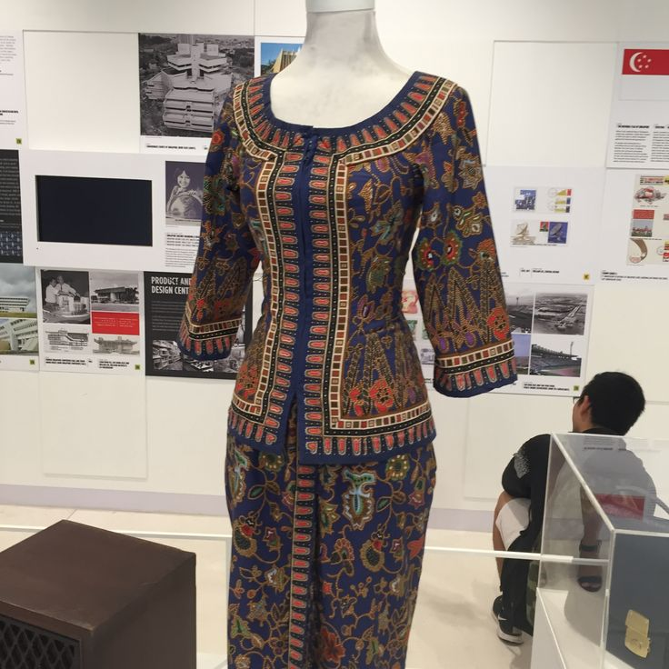 The Sarong Kebaya Is An Important Icon Of Singapore. It