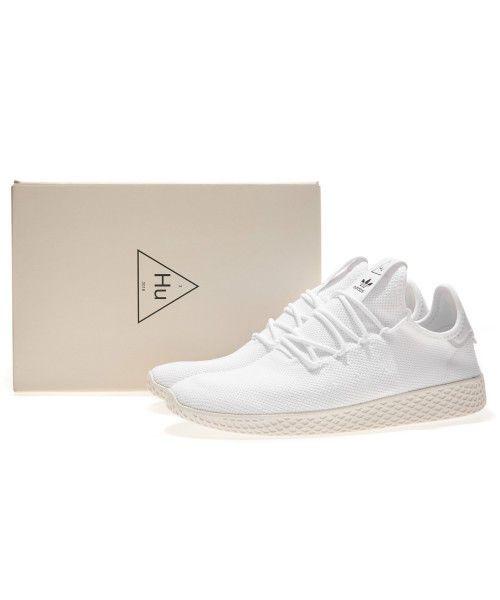 55183873e Details about adidas Originals PW Tennis Hu Pharrell Williams White Black  Men Women B41792
