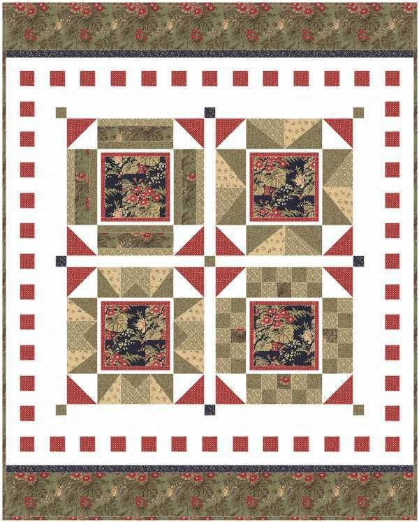 Fabric Ideas for the I Love Home Free Block of the Month | Jacquelynne Steves