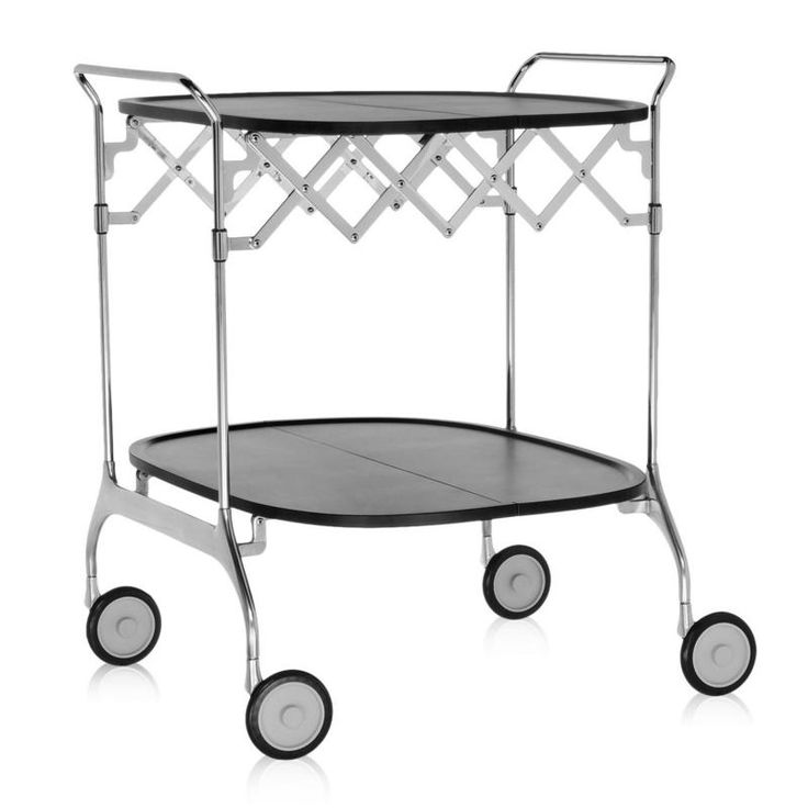 Kartell Gastone serving trolley