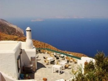The famous Manalis vinery in Sikinos island, Greece - selected by www.oiamansion.com