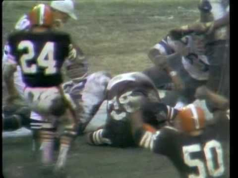 1969 NFL playoffs: Cleveland Browns vs Dallas Cowboys (rare videotape hi...