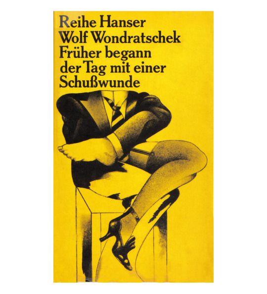 Heinz Edelmann, book cover design, 1970s. Hanser Verlag, Germany