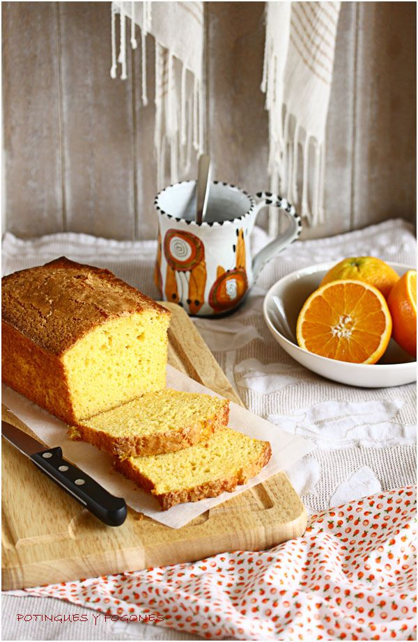 POTINGUES Y FOGONES: Orange cake