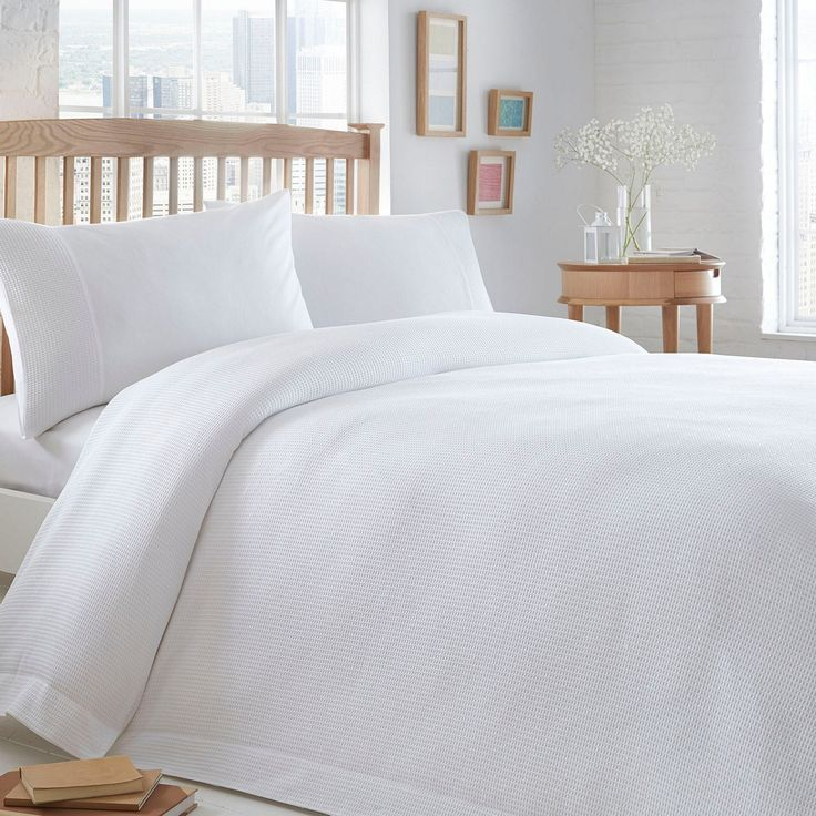 £55 duvet cover M&S This bedding set from The Collection introduces simple, understated elegance to the modern bedroom. In white, it is textured and is ultra-soft in pure cotton.