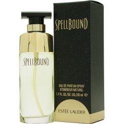 Estée Lauder Spellbound is een damesgeur uit 1991, met topnoten van piment, oranjebloesem, fruitnoten en koriander. In het hart zit jasmijn, lelietje-van-dalen, heliotroop, tuberoos, ylang-ylang, roos, anjer en rozenhout.