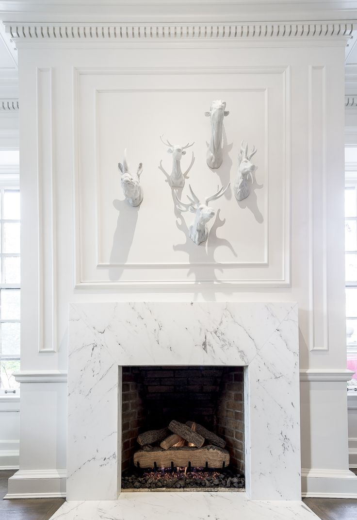 Marble dining room images coco marble fireplace haisa light floor - The Perfect Fireplace White Marble Fireplace For A Traditional Home