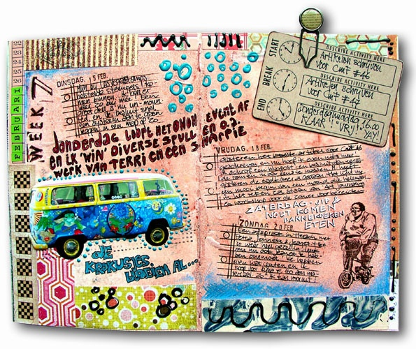Awesome Journal Art NOTE: IDEA, USE FOREIGN LANGUAGE. ASK MY GERMAN FRIENDS FOR HELP WITH THIS.