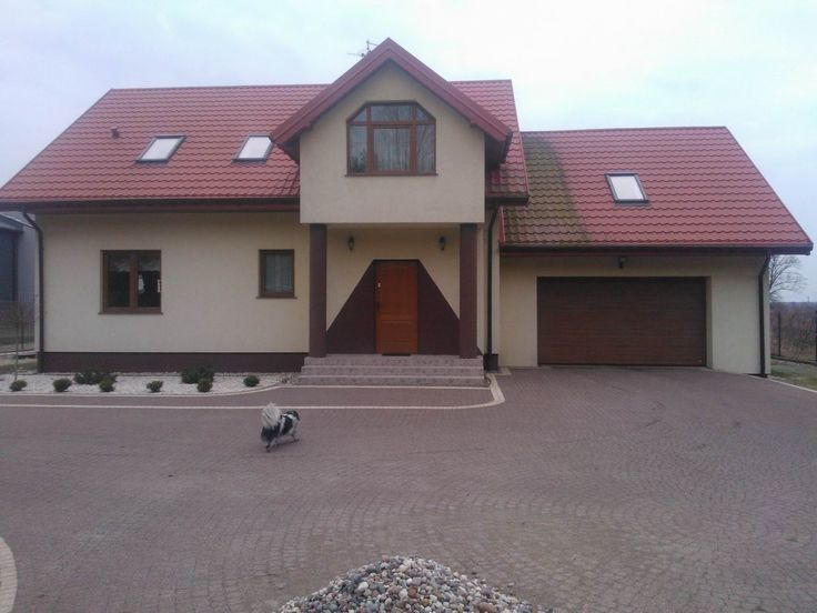 Front domu zgrabny