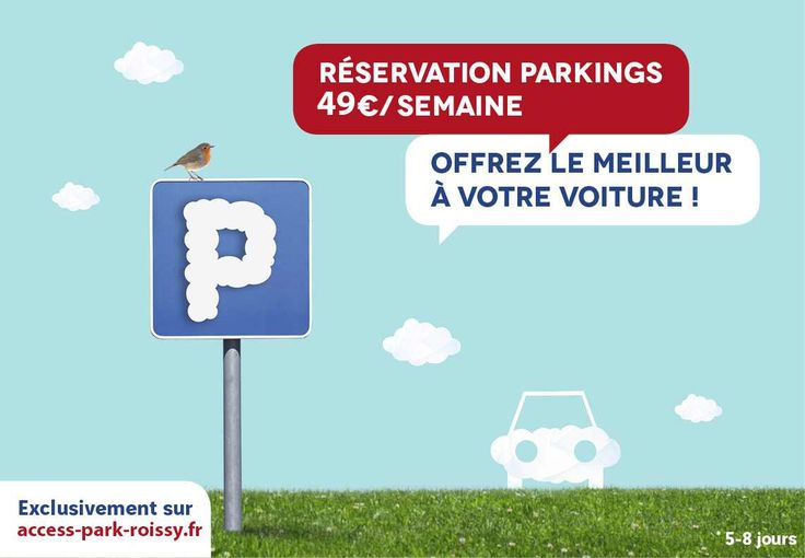 Parking pas cher prés de l'aéroport de Roissy cdg et transfert en navette jusque votre terminal. Marre des parkings trop cher ? Vous galérez pour trouver un parking avant de partir en vacances? Access Park Roissy est la solution à vos problèmes de parking. Réservez votre place de stationnement en ligne à coté de roissy. http://www.access-park-roissy.fr/