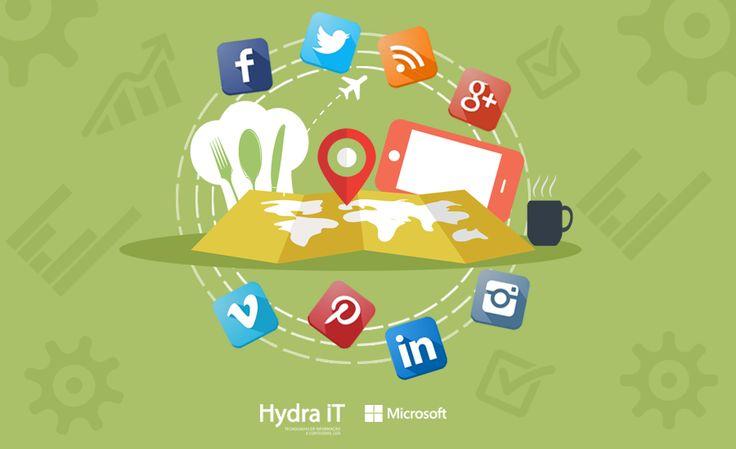 Marketing Digital no Turismo www.hydra.pt #microsoft #marketingdigital #turismo #hydrait